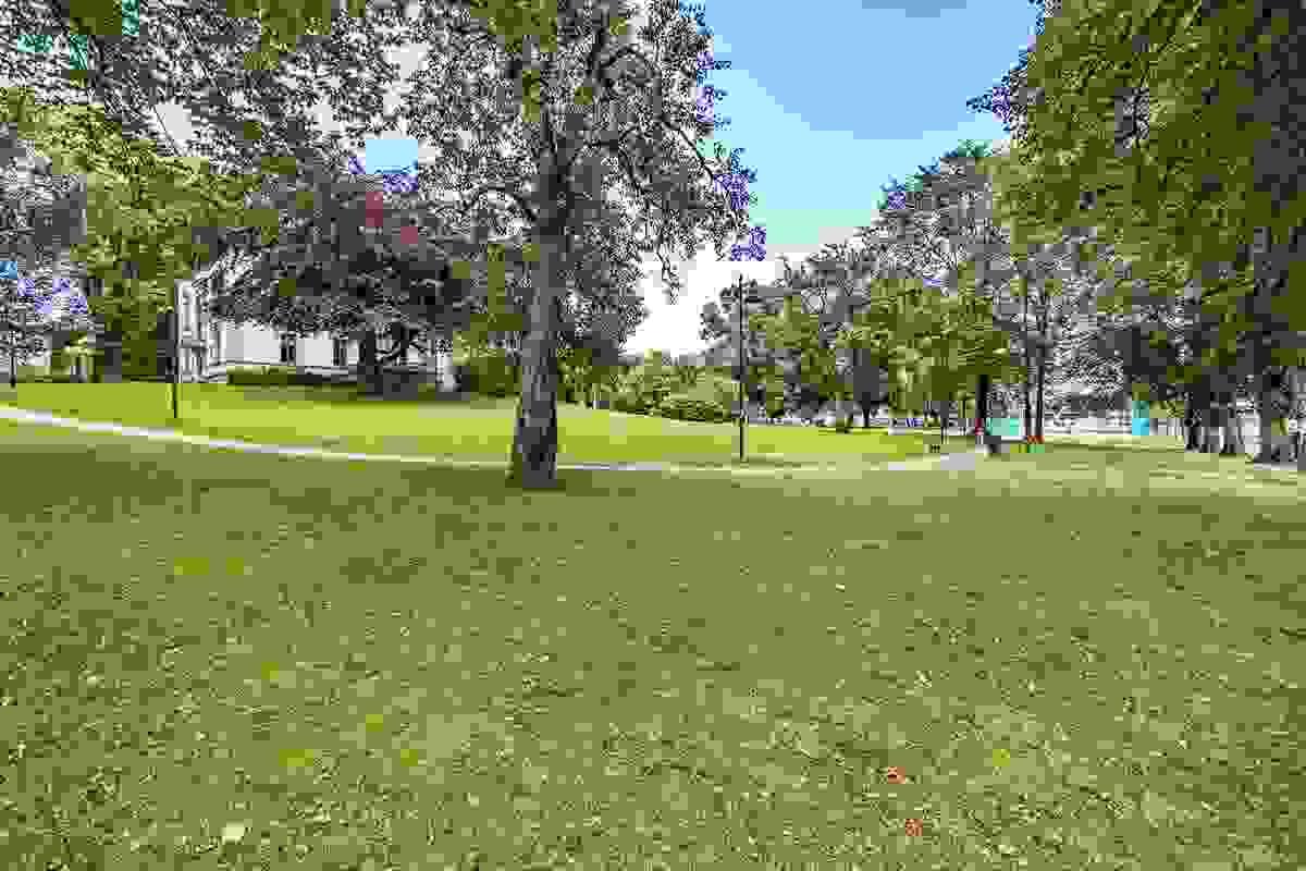 Nærområde; Området byr på en rekke åpne friarealer