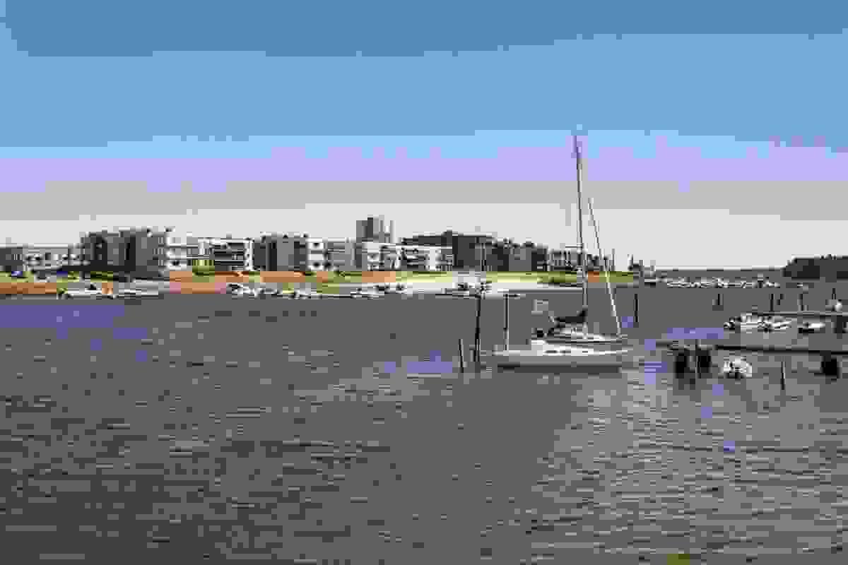 Jarlsø sett fra Husvik