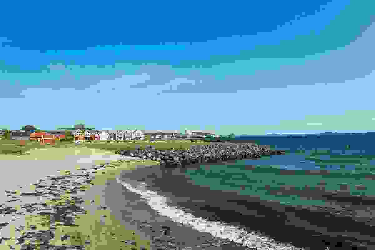 Nærområde; Strand i området
