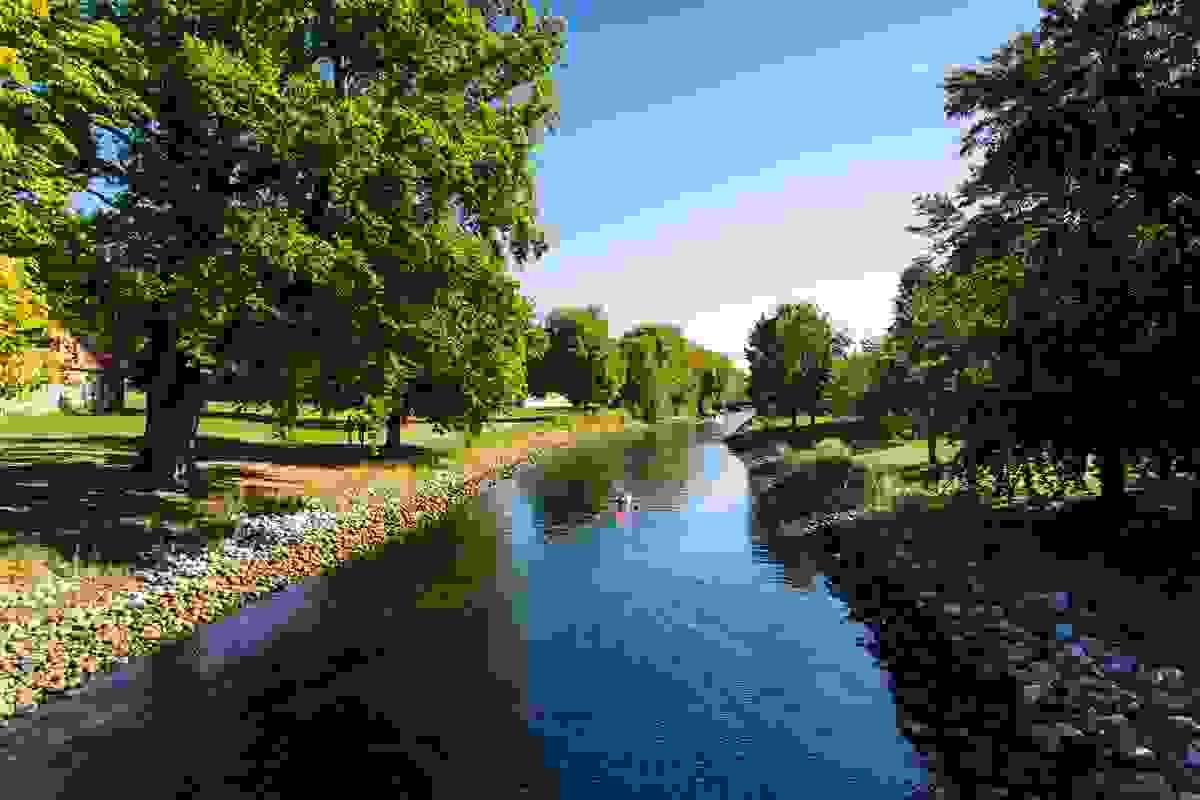 Nærområde; Kort vei til ulike parker
