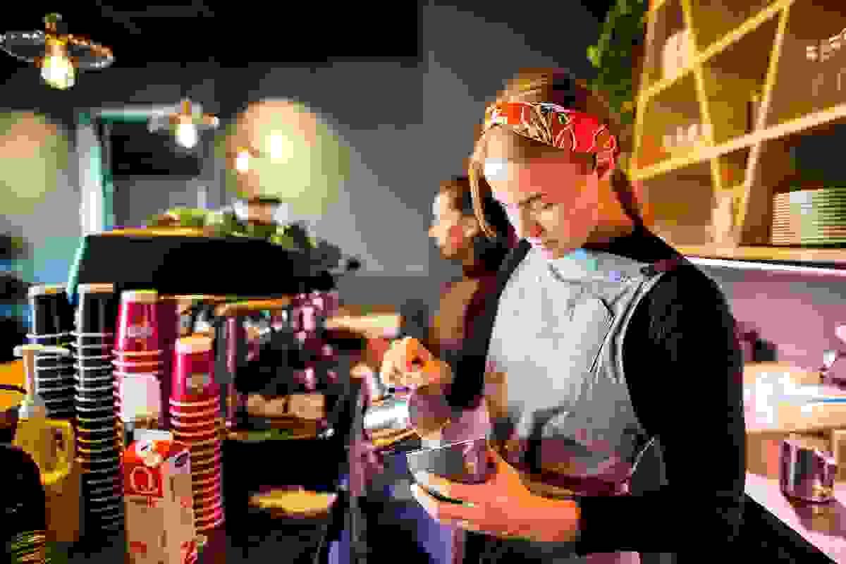 Nærområde; Horten byr på en rekke koselige kafeer og spisesteder