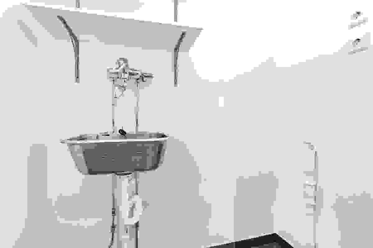 Eget vaskerom med utslagsvask