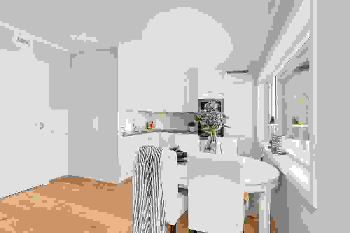 Kjøkkenet er fra tradisjonsrike og 100% danskeide Aubo som har produsert kjøkken i flere tiår.