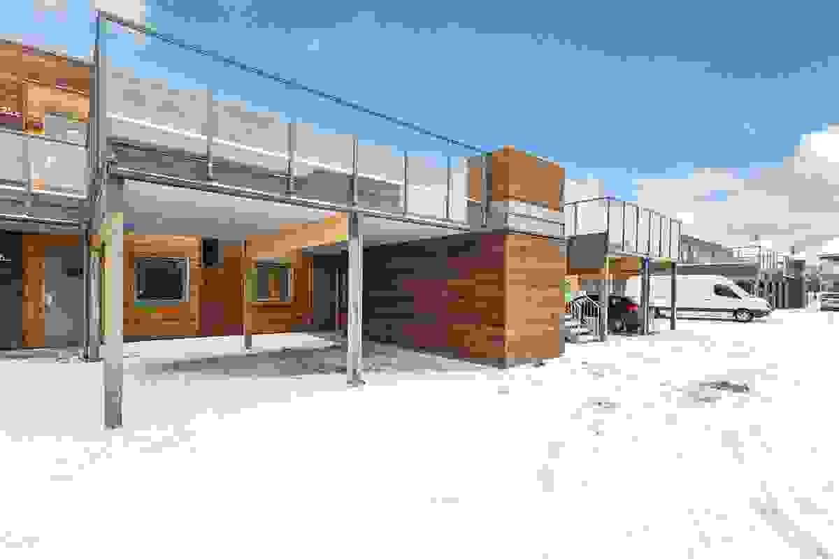 Moderne design tegnet av Spir arktiekter i Tønsberg