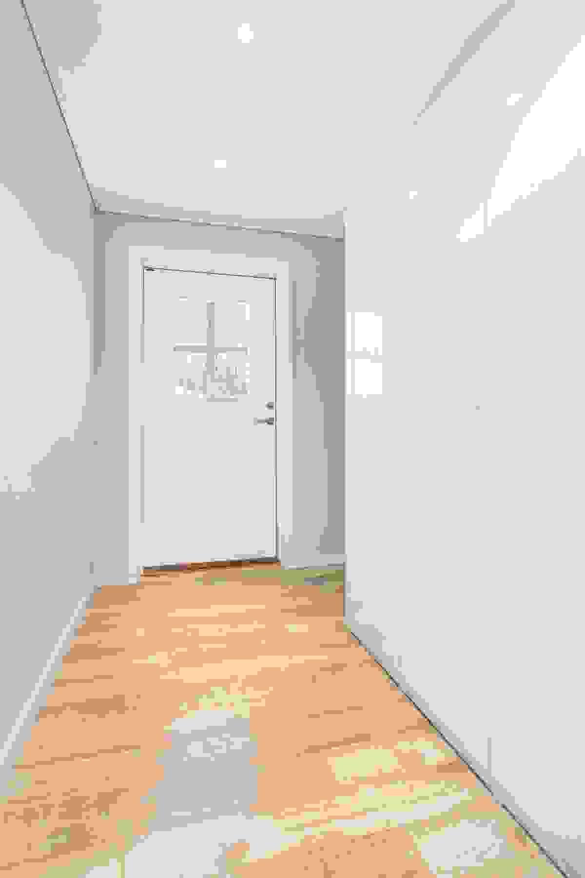 Inngangsparti med garderobe