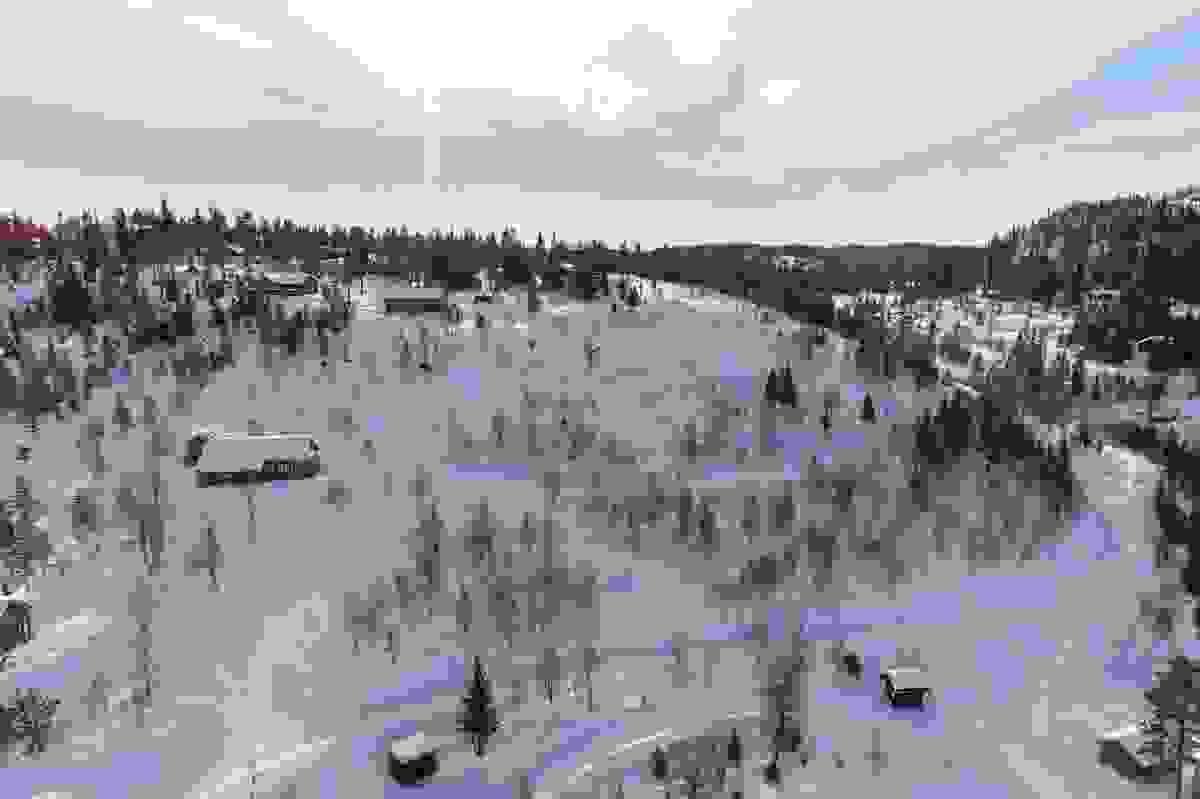 Middagslia - tomter felt A og felt B - Februar 2019