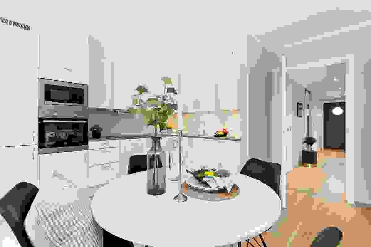 Kjøkkenet er fra tradisjonsrike og 100% danskeide Aubo som har produsert kjøkken i flere tiår