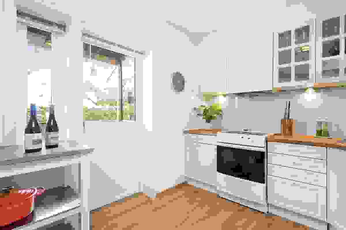 Kjøkkenet er fra 2007
