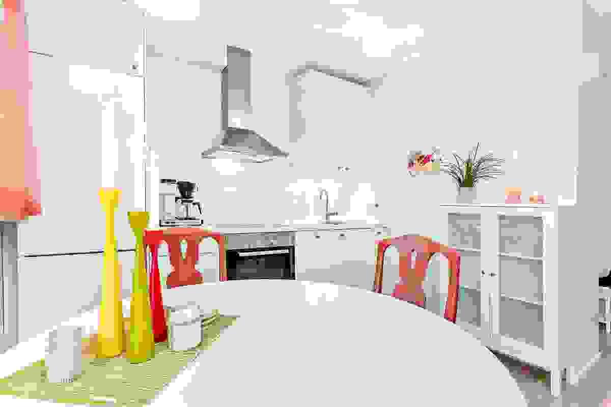 Lyst og moderne kjøkken