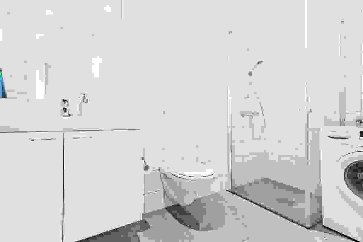 Pent flislagt bad