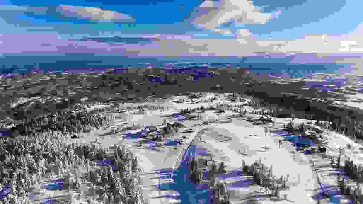 Områdebilde - Dronebilde