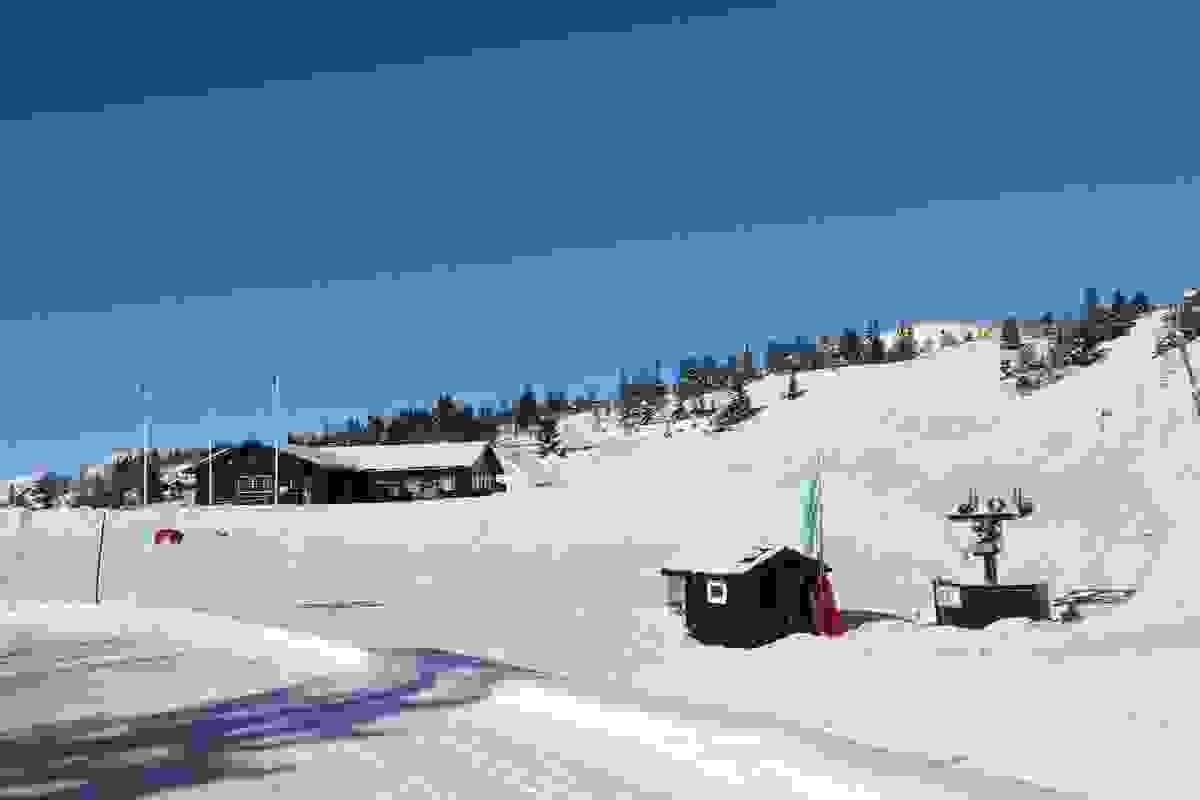 Områdebilde - Lifjell Skisenter