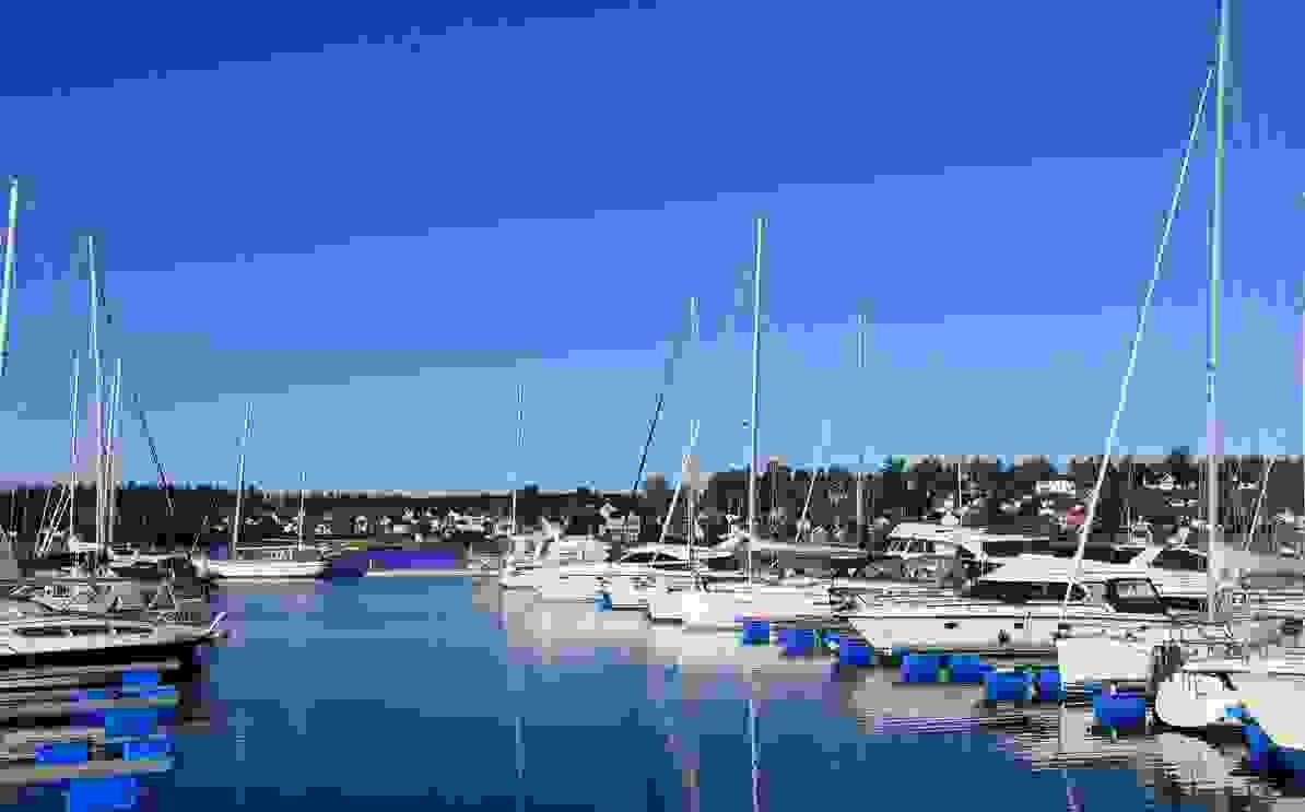 Nærområde - Vallø båthavn