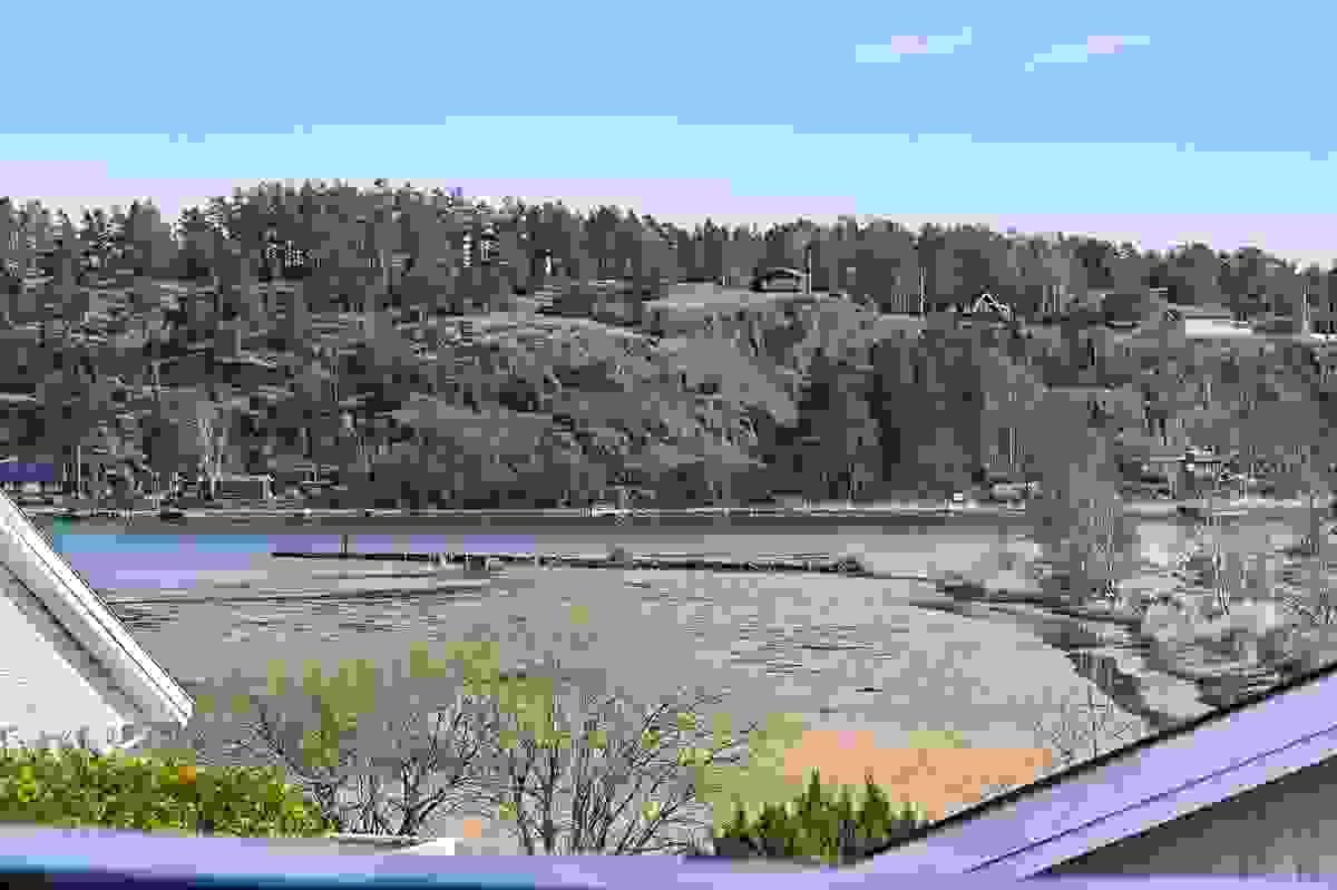 Utsikt til Ekenessundet