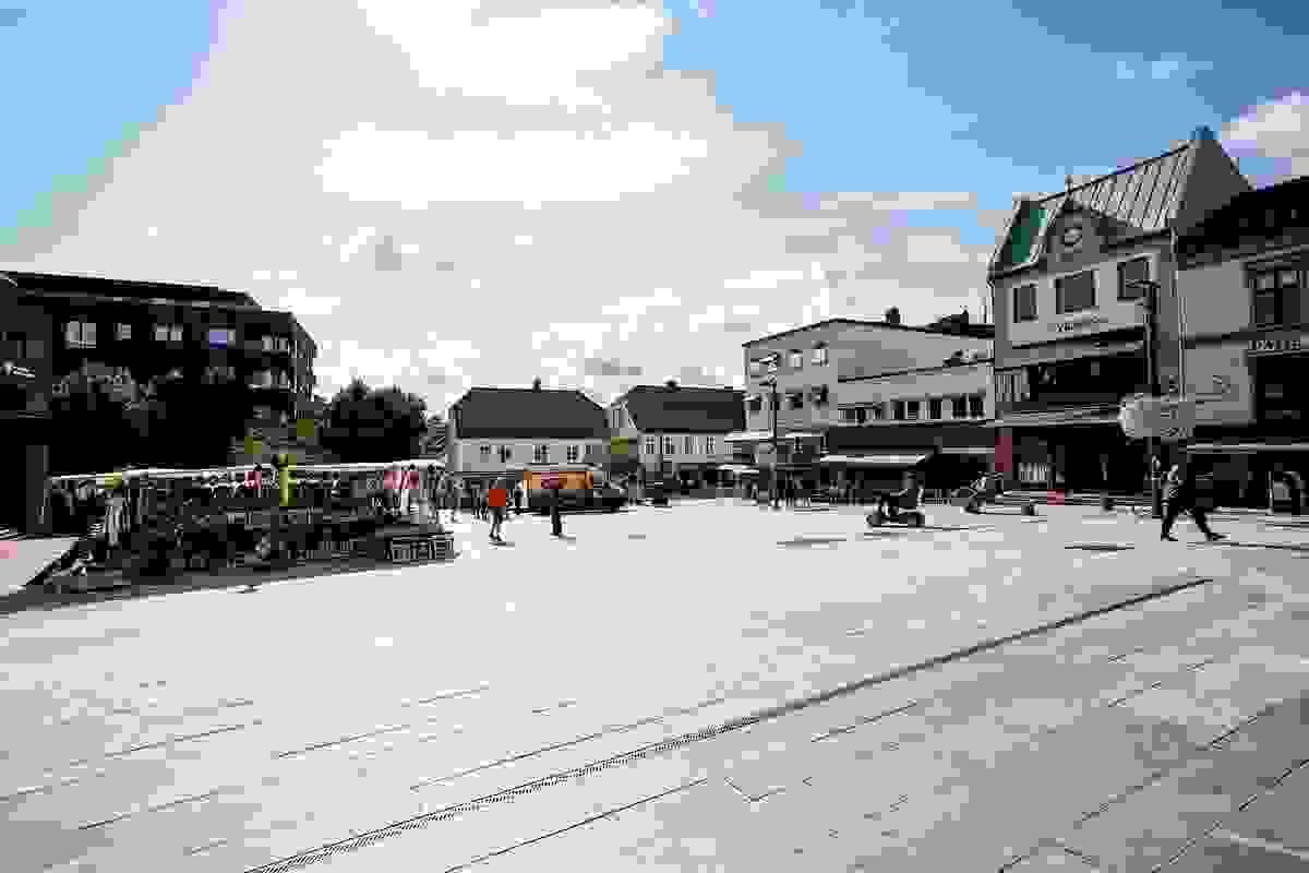 Områdebilde - Tønsberg torv