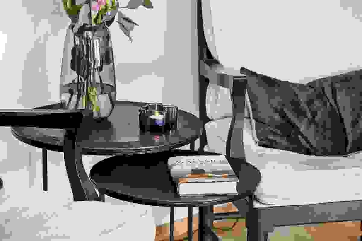 Stemningsbilde fra stue-/spisestue