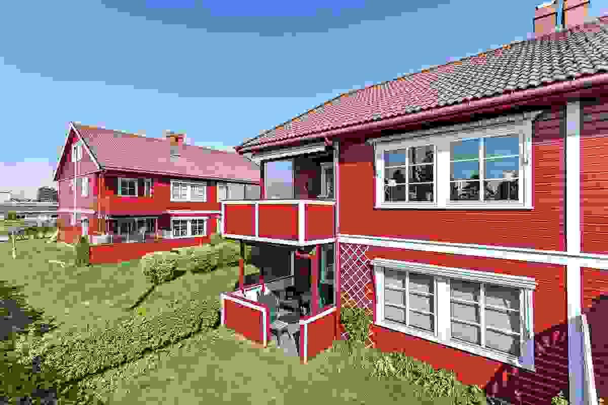Her i Tolvsrødhaven boligsameie, bor du trygt og godt
