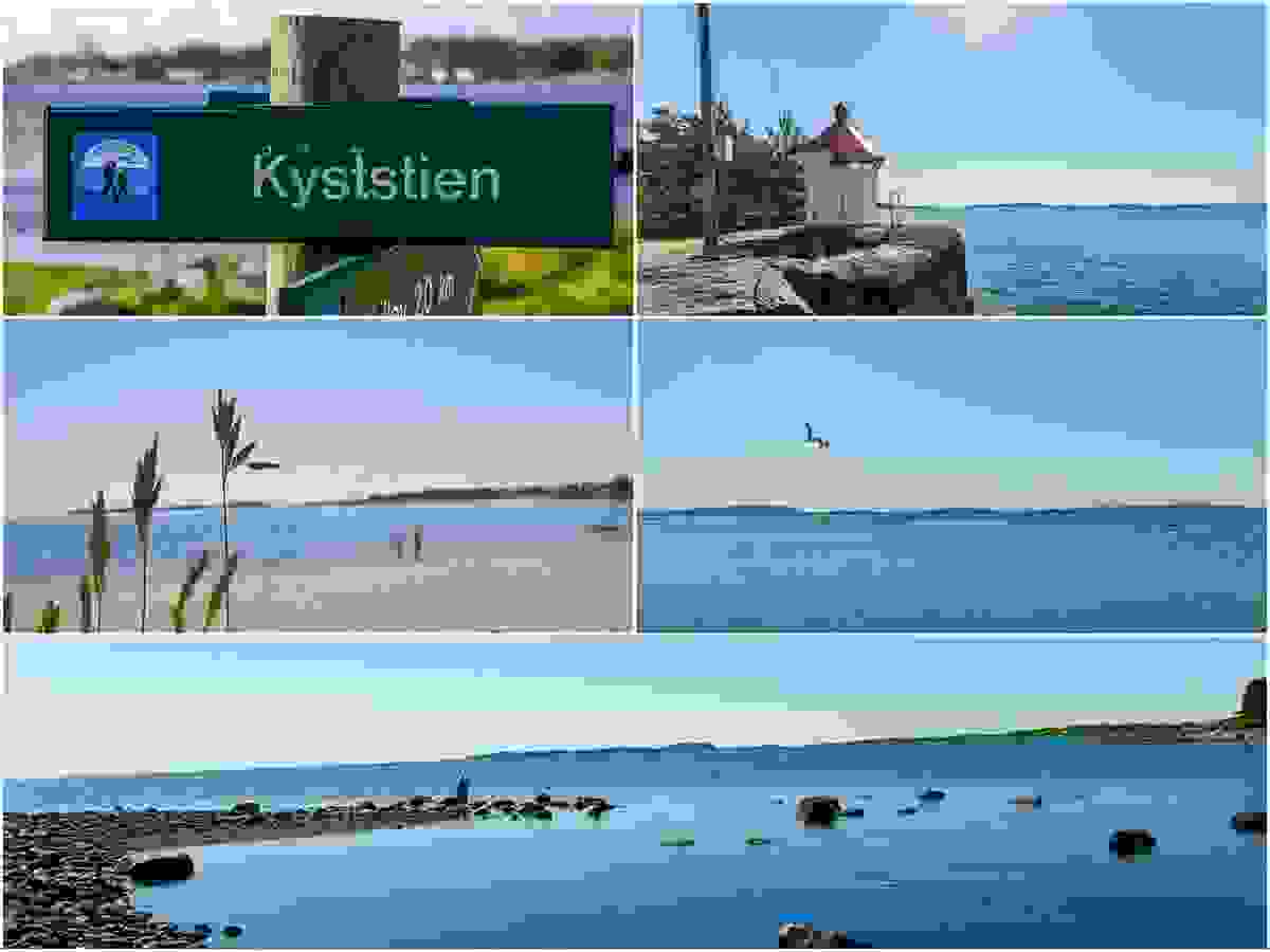 Nærområde; Kyststien mot Oslofjorden