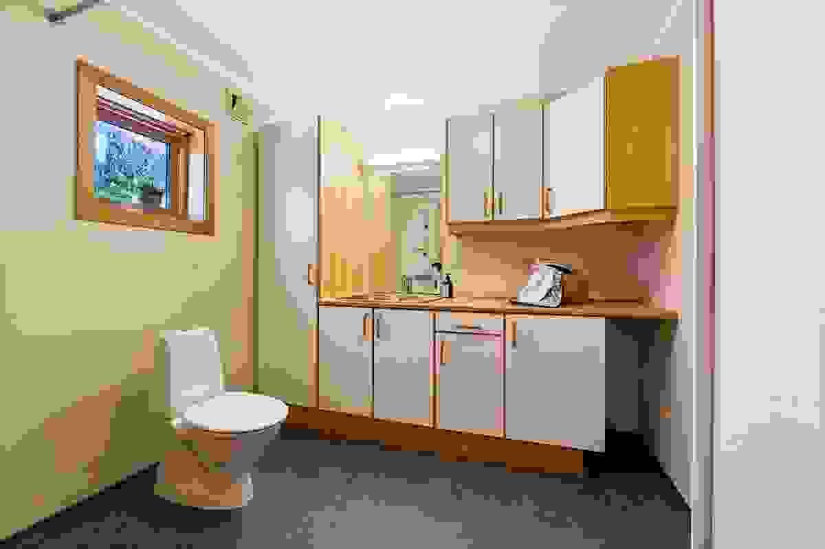 Bad/vaskerom i 1. etasje