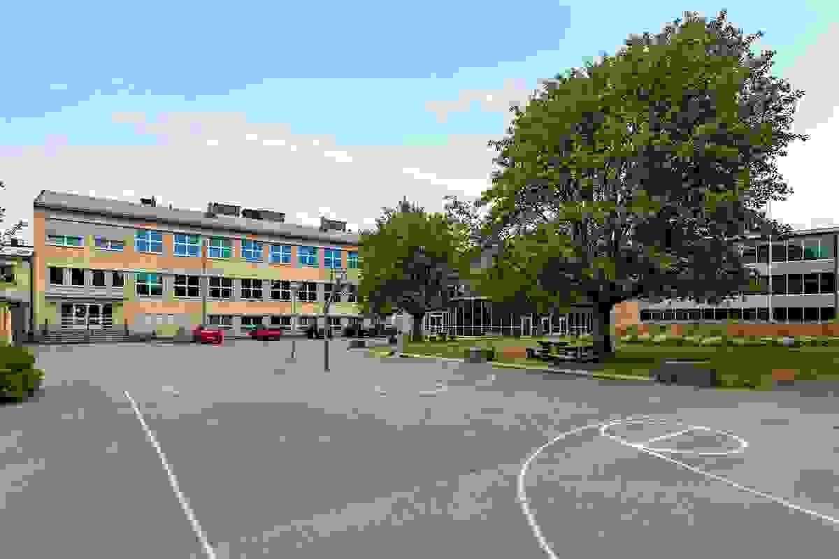 Områdebilde - Borgheim Undgomsskole