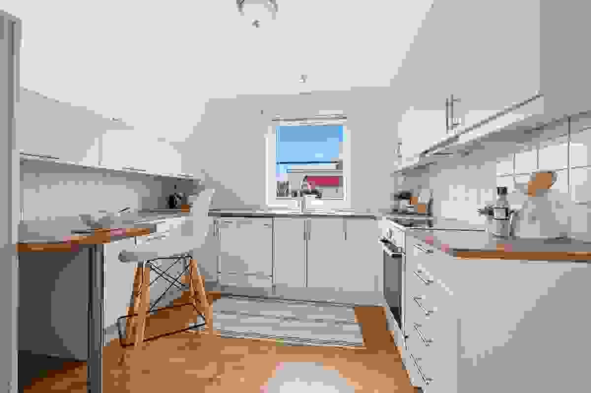 Praktisk og lettstelt kjøkken