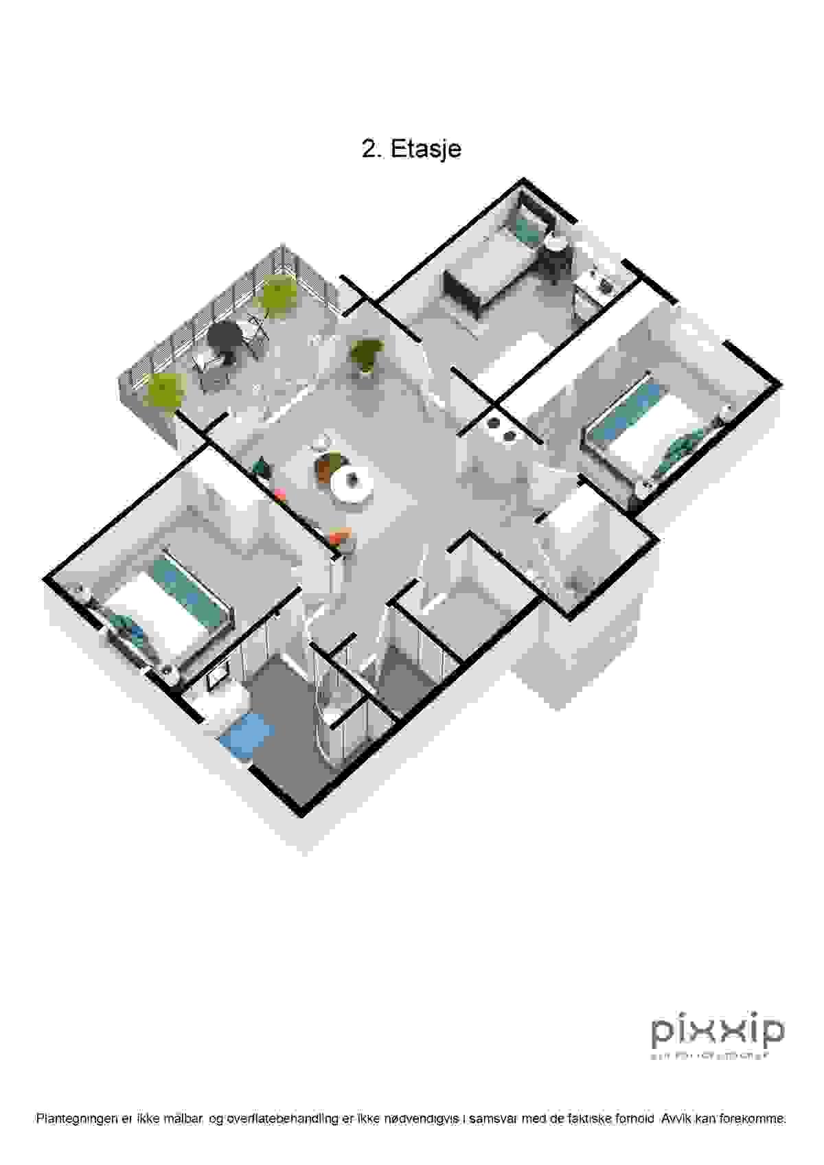 2. etasje