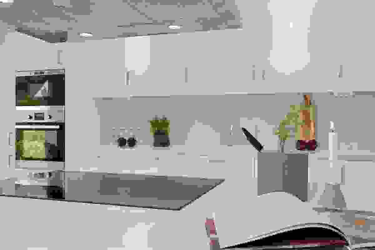 Illustrasjonsbilde - kjøkken